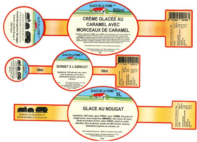 U hoeft zelf niet om te kijken naar de etikettering en voedingswaarden met Boerderij-ijs.